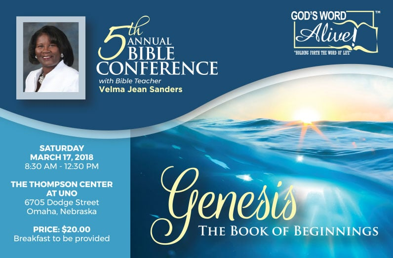 "5th Annual ""God's Word, Alive!"" Bible Conference"