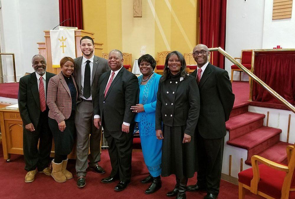 ZION BAPTIST CHURCH'S BIENNIAL MEN'S DAY – February 24, 2019