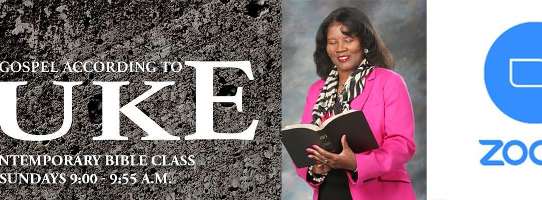 Contemporary Bible Class – June 26, 2020