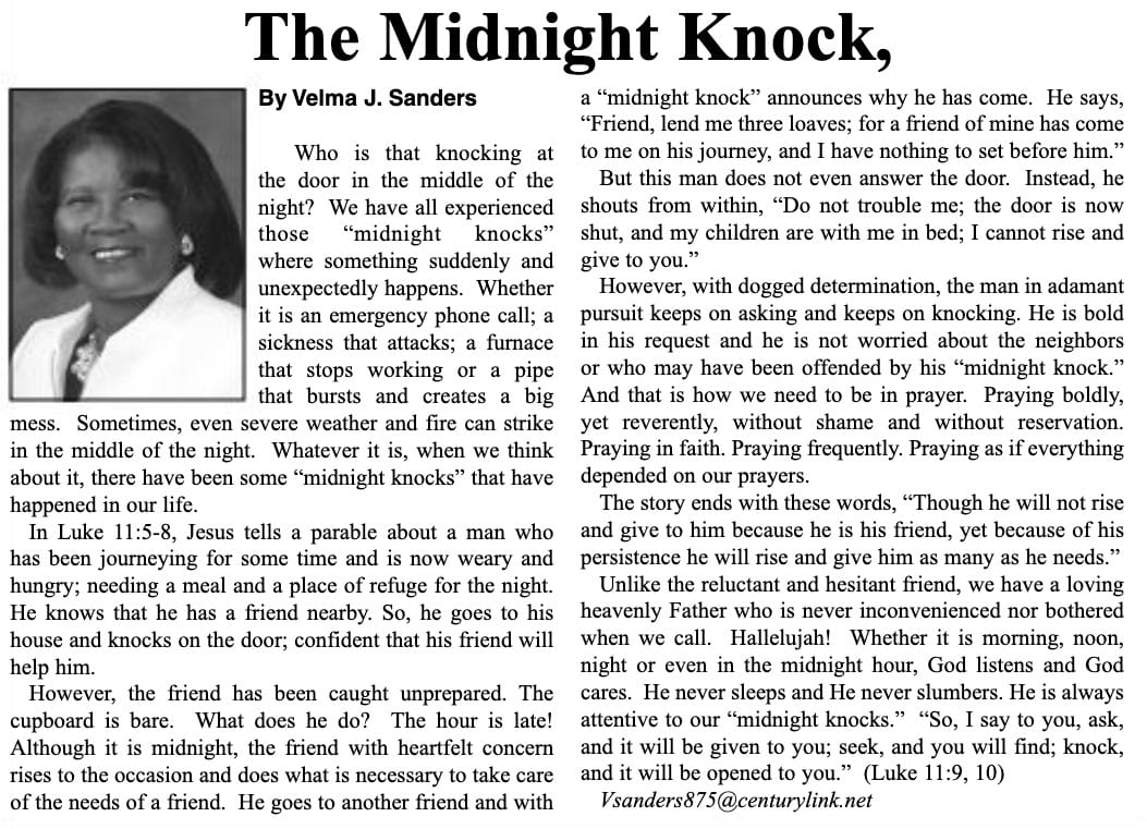 The Midnight Knock article